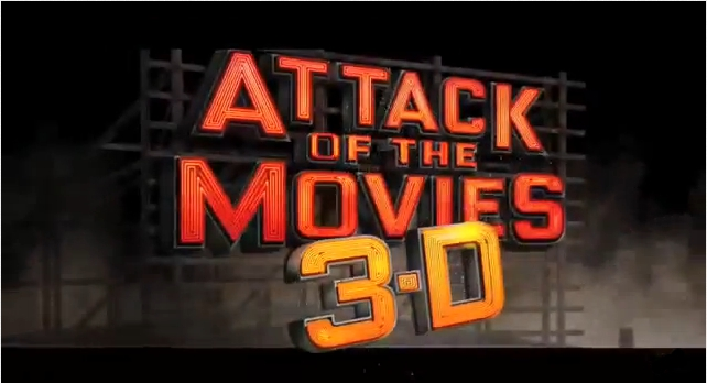 Attack Of The Movies 3D &#8211; Trailer