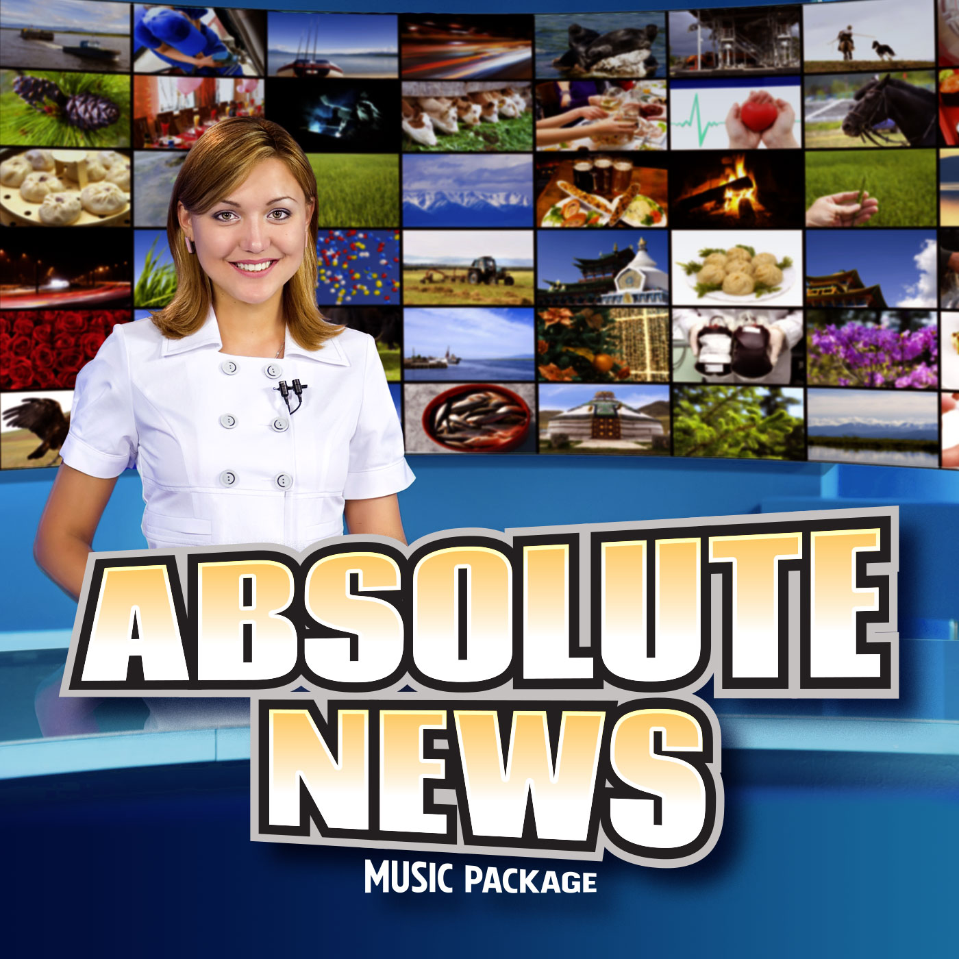 Absolute News Music Package