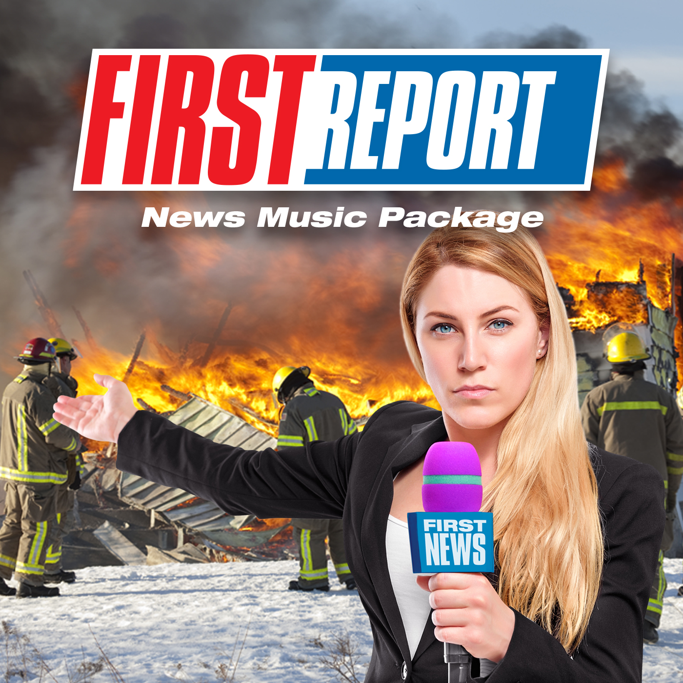 First Report News Music Package