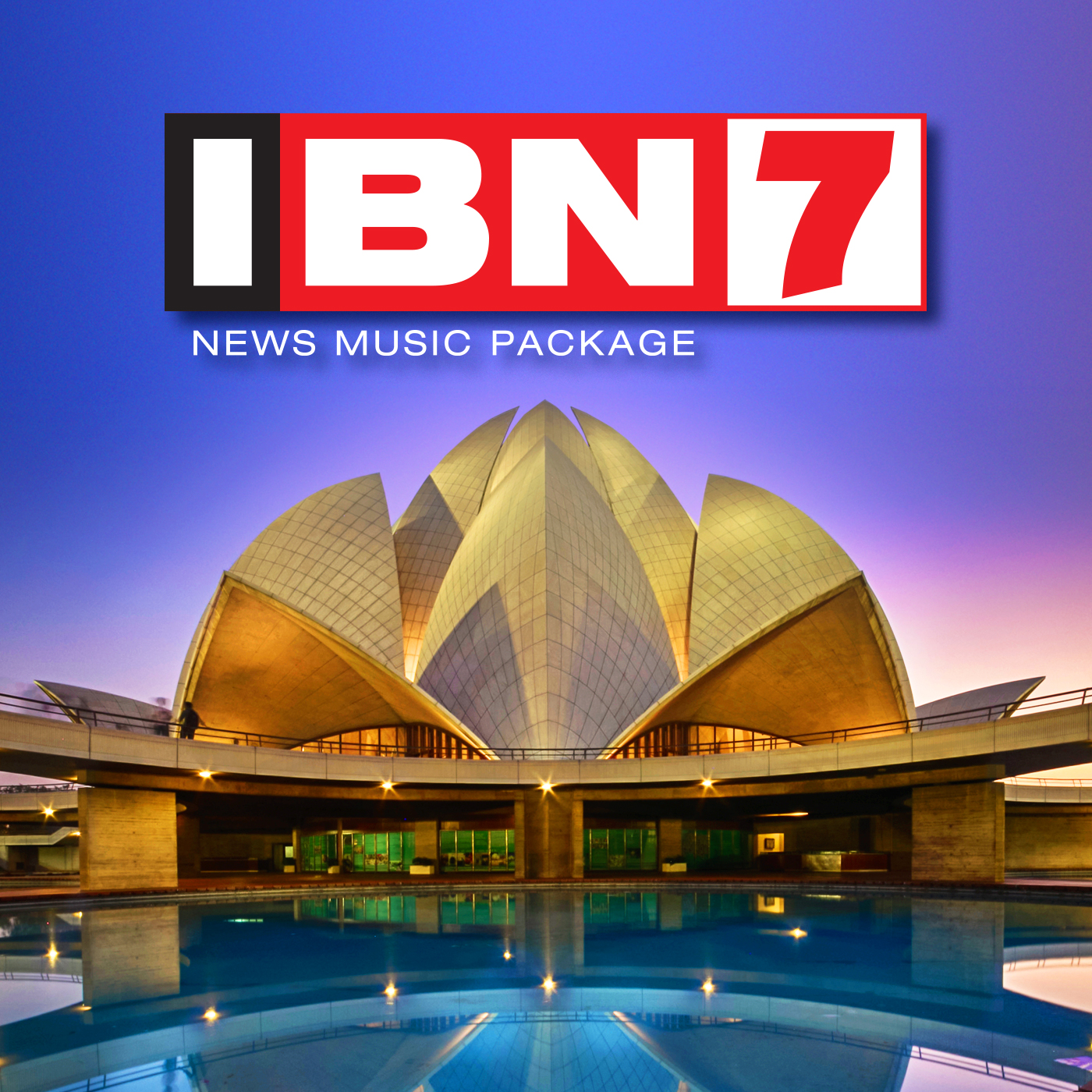 IBN7 Station News Music Package