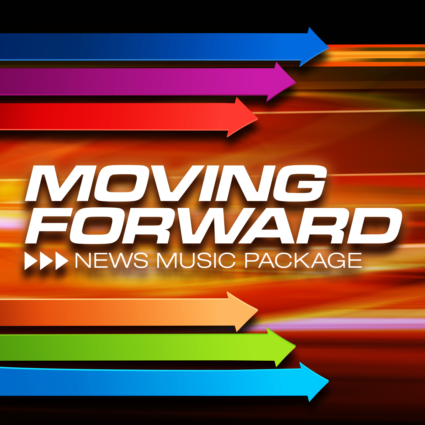Moving Forward News Music Package